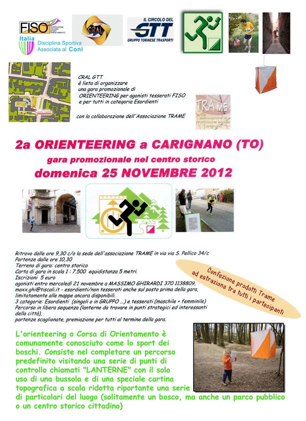 Volantino Carignano